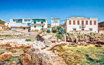 Accommodaties op het eiland Vis