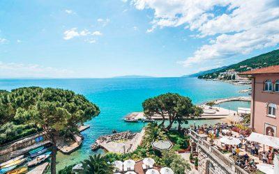 Hotels & Appartementen aan de Opatija Riviera