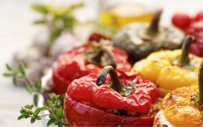 Recept: Gevulde Paprika's