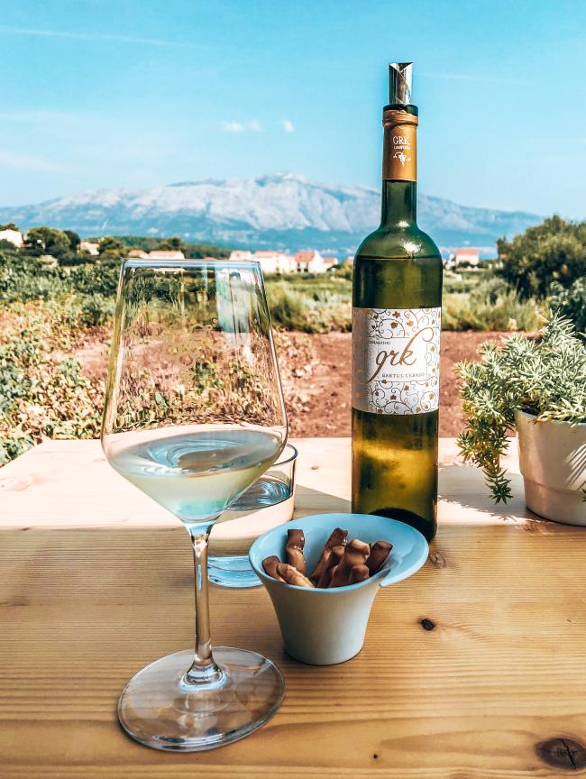 Korcula Kroatie wijn