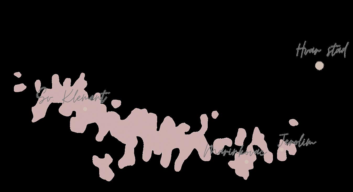 Pakleni eilanden Kroatie