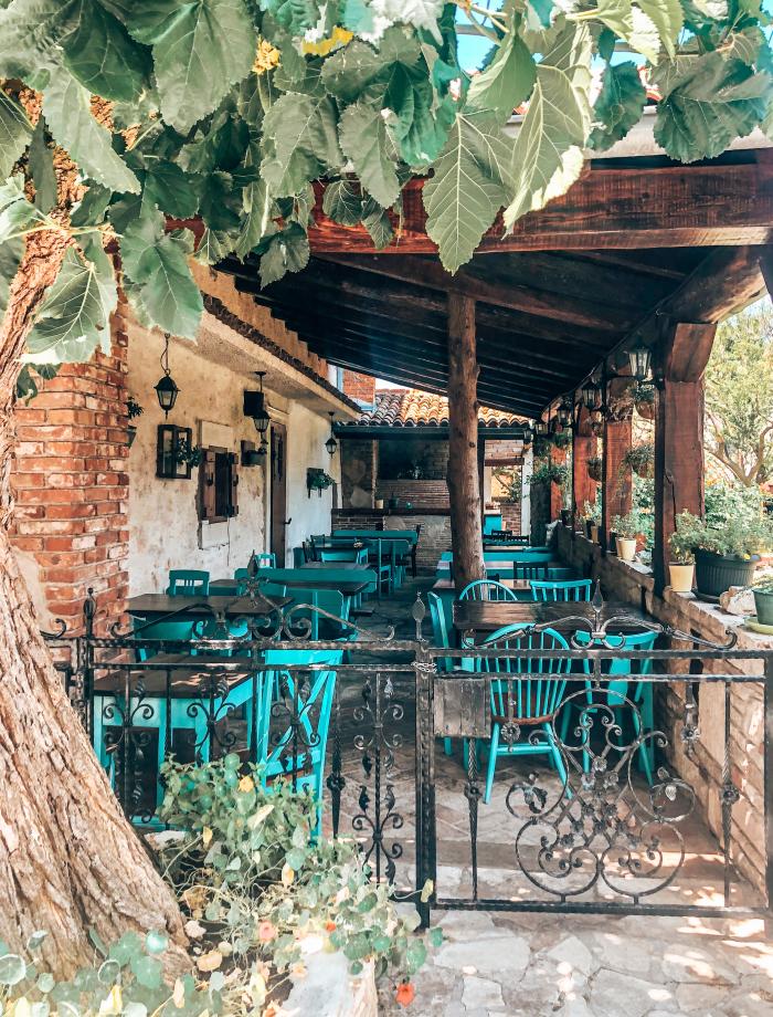 restaurants kamenjak kroatie