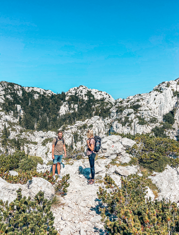 Nationaal park Velebit Kroatie