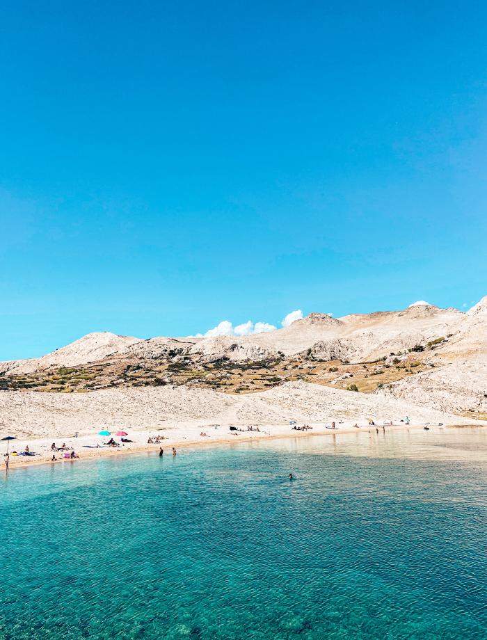 Rucica strand Kroatie