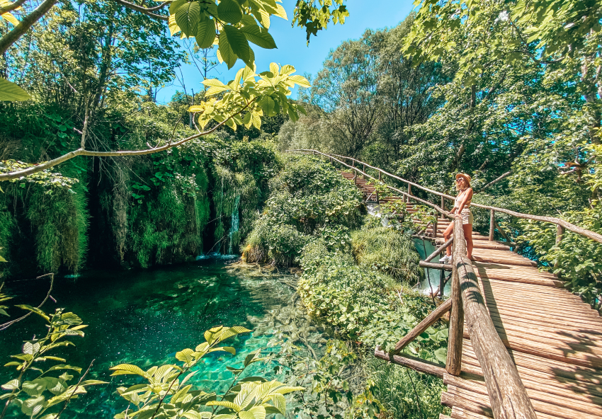 nationaal park Plitivce Kroatie