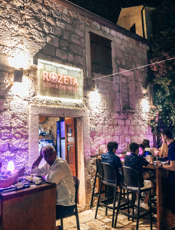 Restaurants hvar stad