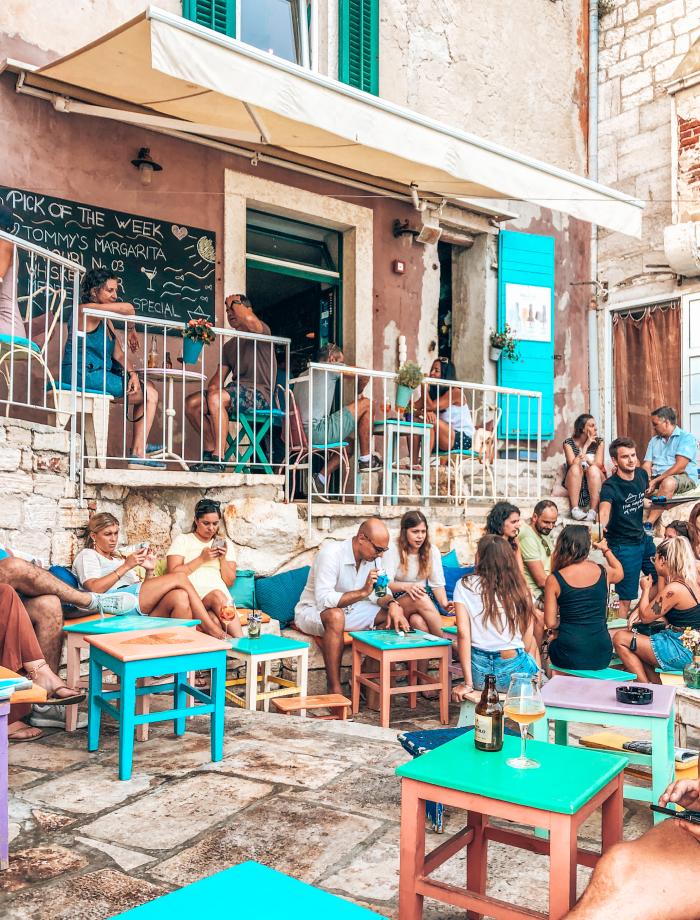 Restaurants Rovinj Mediteraneo cocktailbar