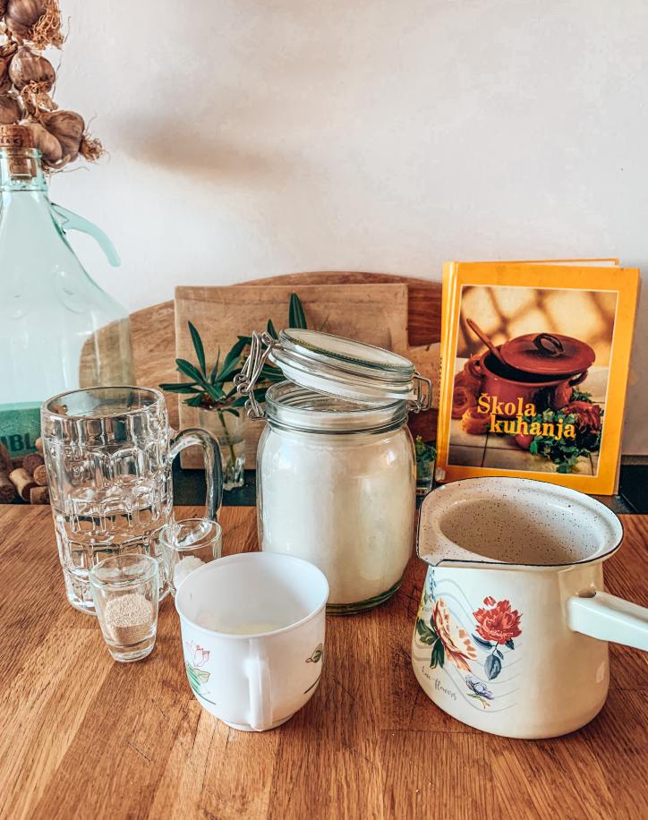 Lepinje Kroatisch recept