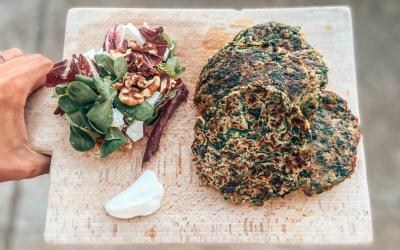Recept: Groene Vega-burger