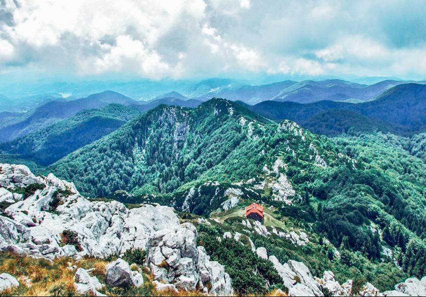 Nationaal park Risnjak Kroatie