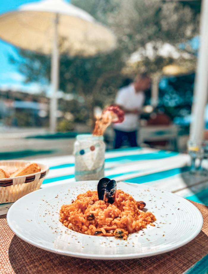 restaurants het eiland Krk Kroatie