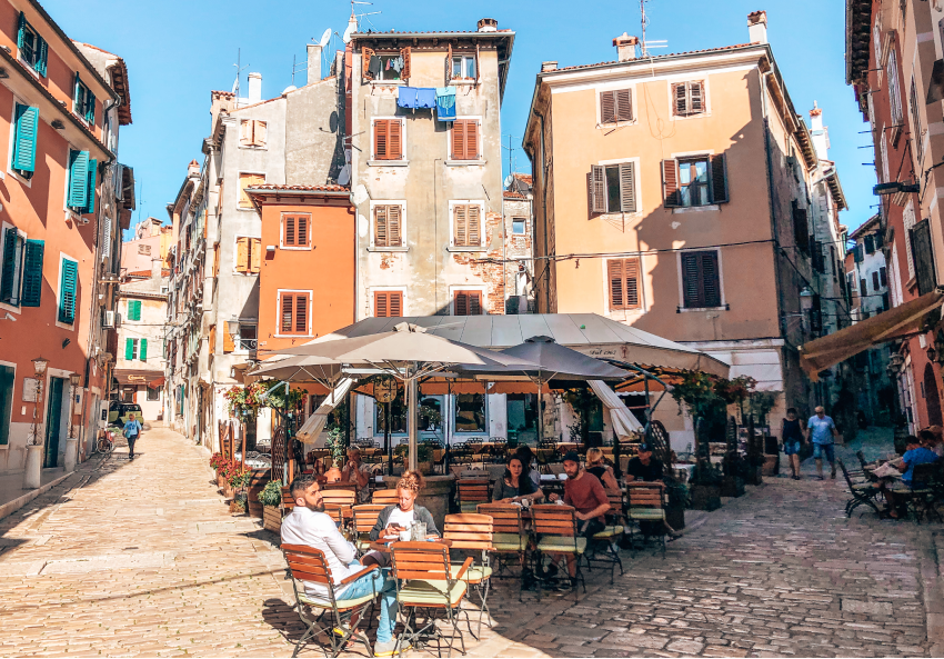 Rovinj foodtour Istrie