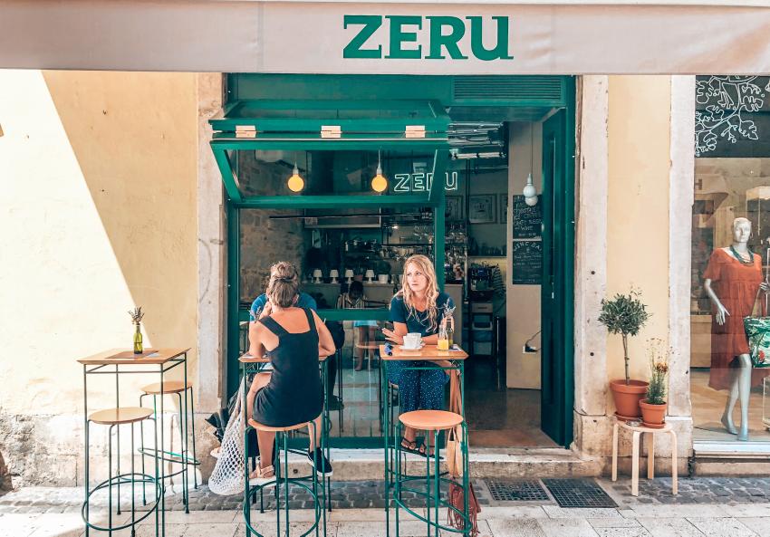 Restaurants Split Kroatie