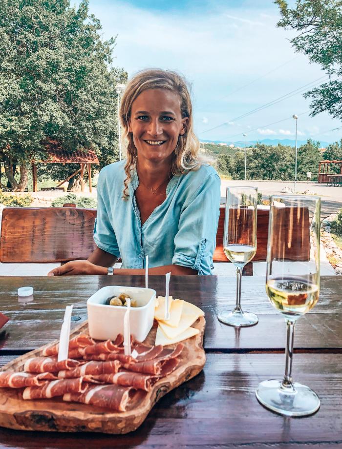 Winetasting Kvarner baai Kroatie
