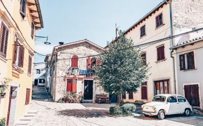 De mooiste dorpjes in het binnenland van Istrië