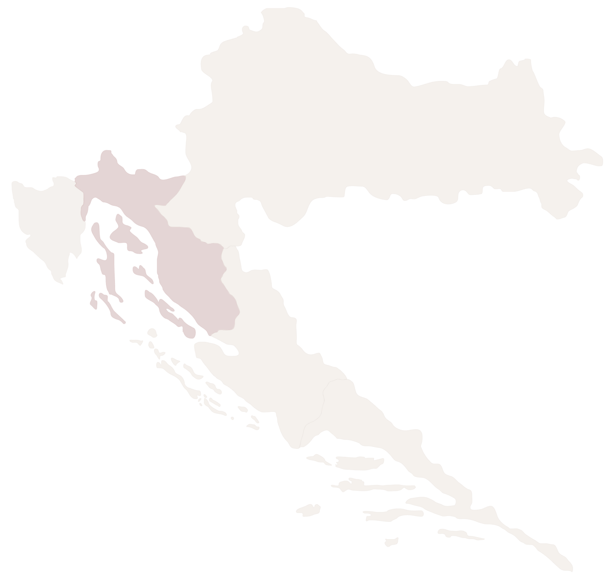 Kvarner baai Kroatie