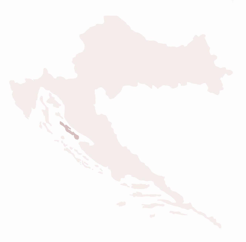 Het eiland Pag Kroatie