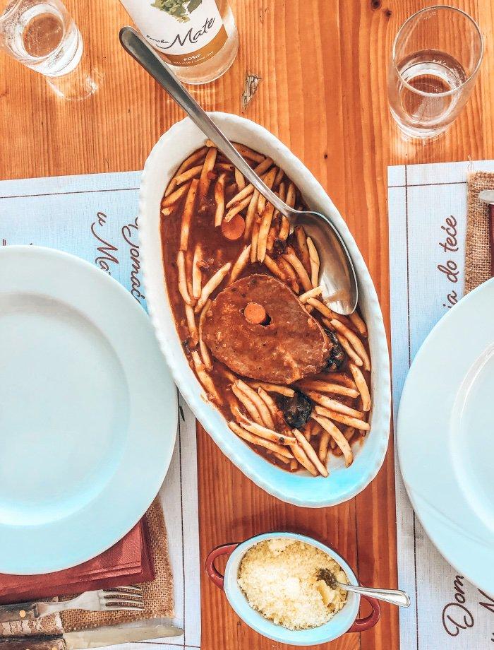 Surlice pasta