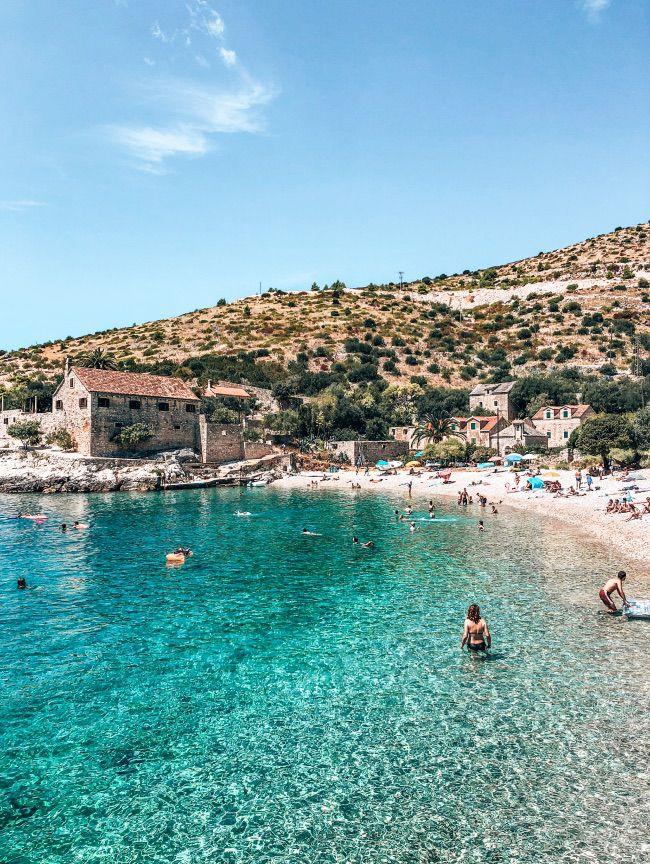 Hvar Kroatie strand
