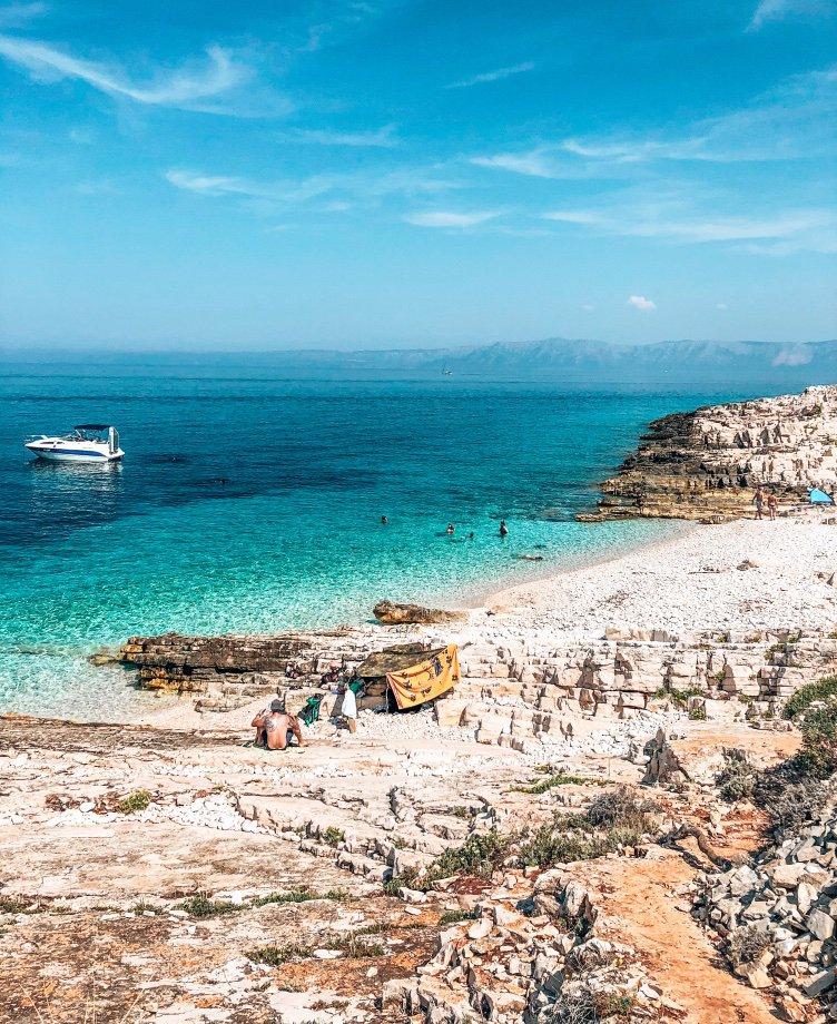 proizd strand kroatie