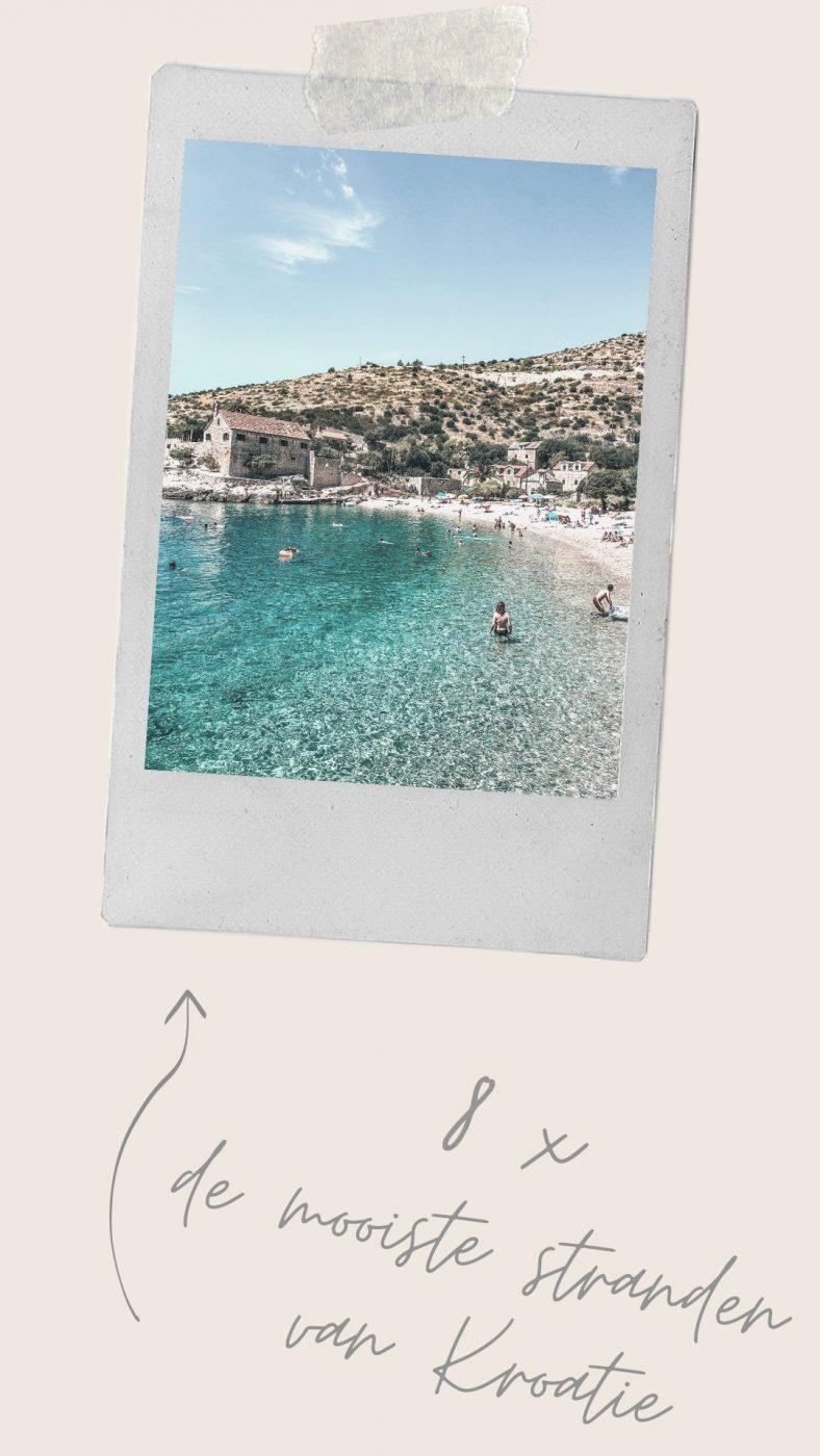 Mooiste stranden Kroatie