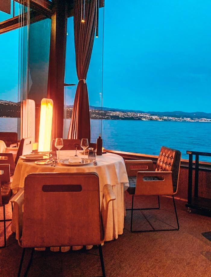 Restaurants Opatija Kroatie