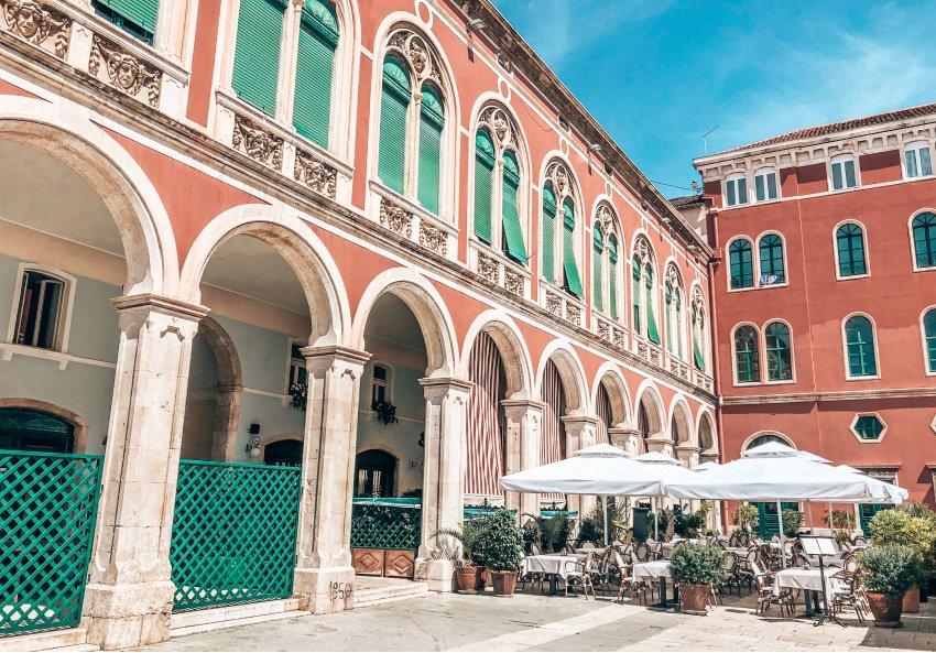 Split oude stad