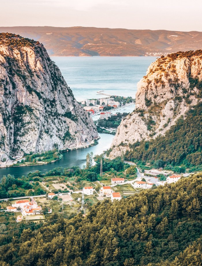 Cetina rivier kroatie