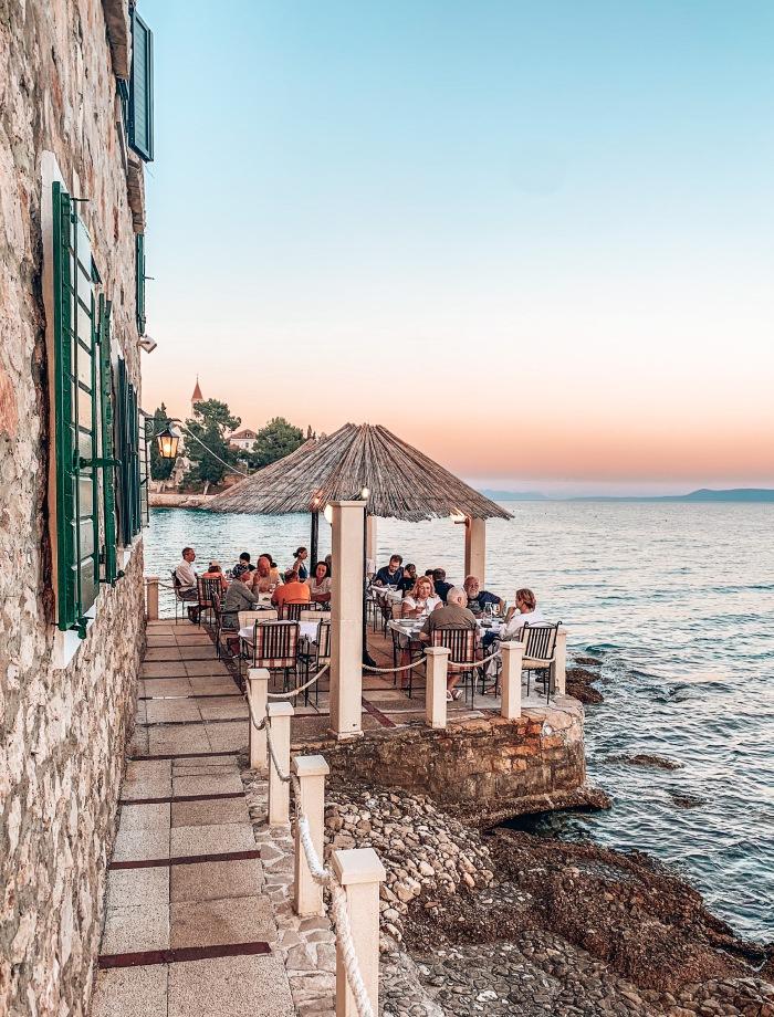het eiland Brac Kroatie