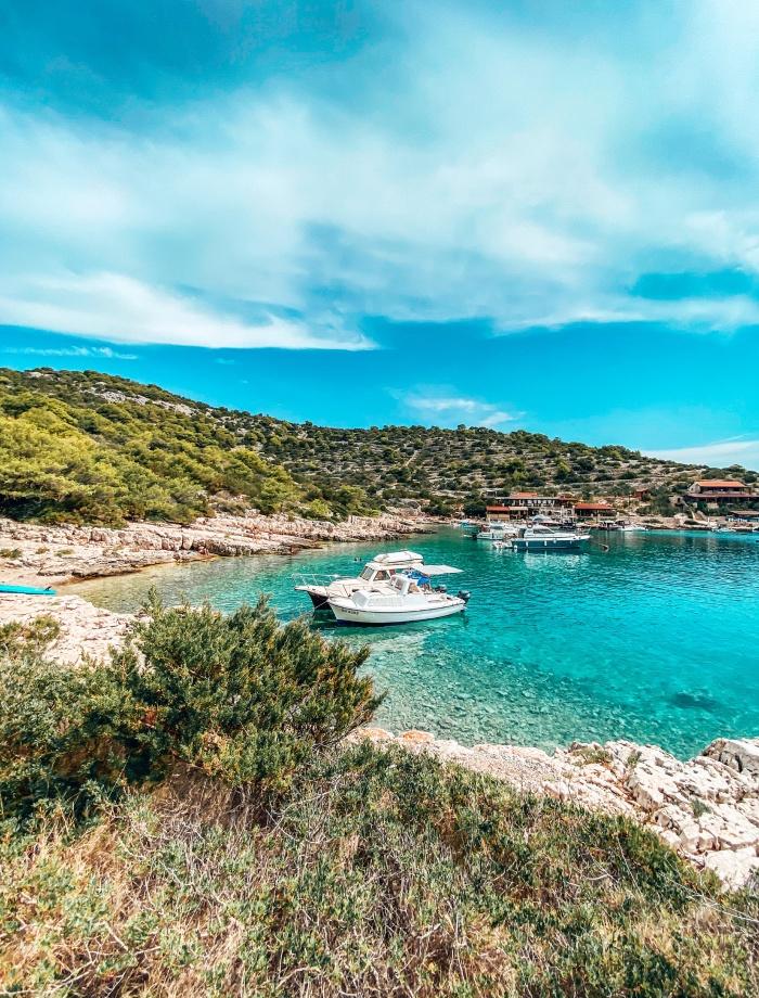 Kaprije eiland Sibenik Archipel Kroatie