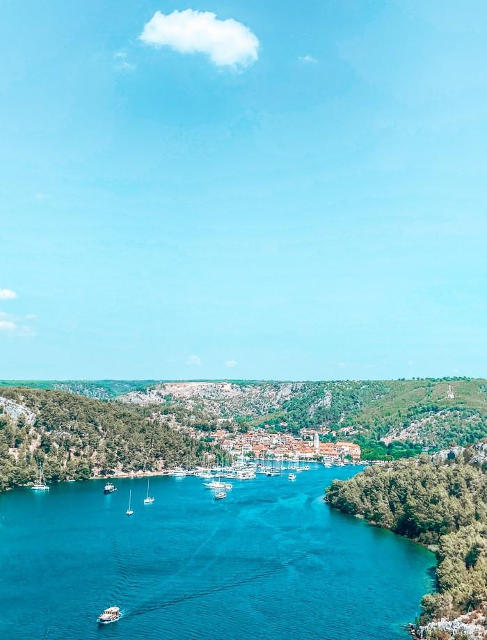 Skradin Kroatie