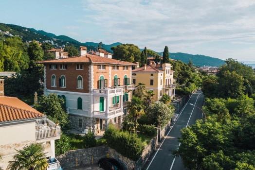 Accommodaties Lovran Kroatie