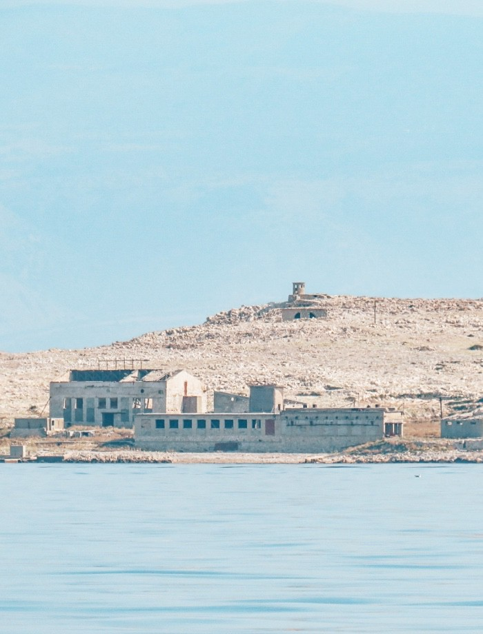 Goli Otok Krk Kroatie