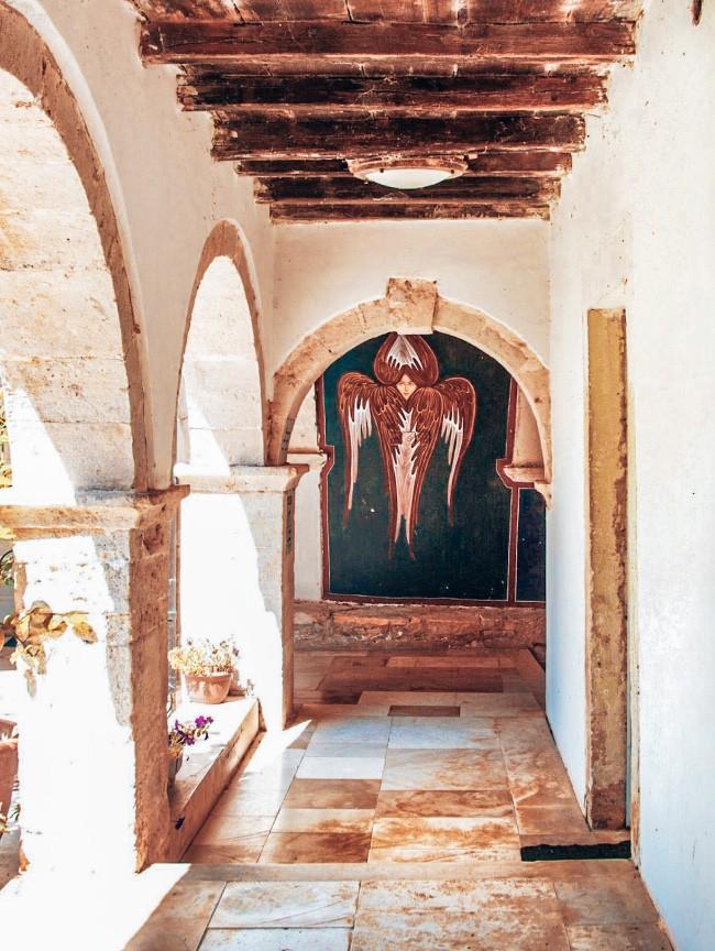 Kosljun klooster Krk Kroatie