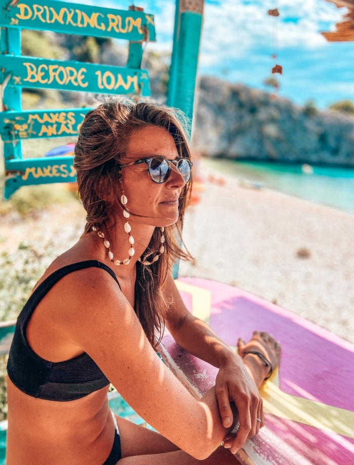 beachbar zala Krk Kroatie