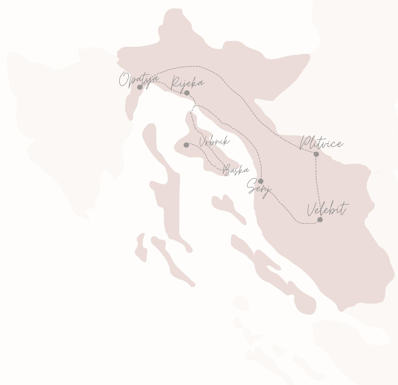 rondreis Kroatie