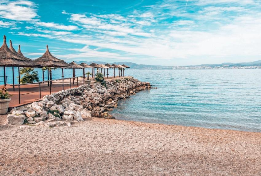 Stranden Krk Kroatie