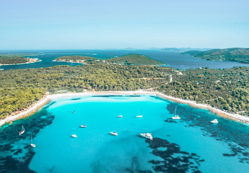 sakarun strand dugi otok kroatie