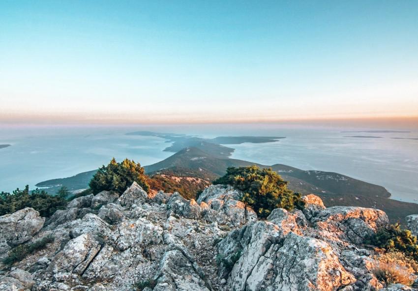 het eiland Losinj Kroatie