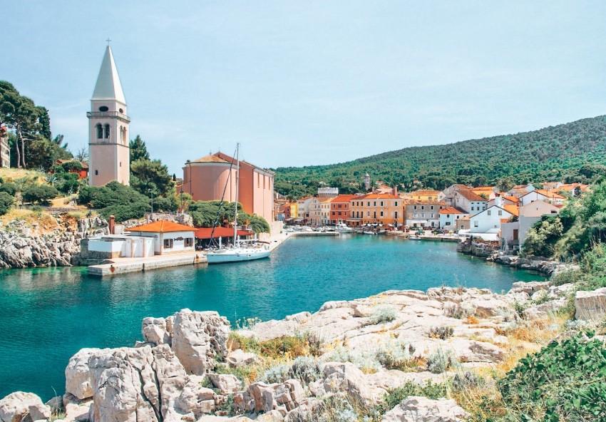 Veli Losinj Kroatie