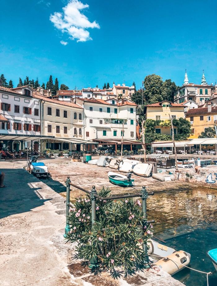 het eiland Ugljan Kroatie