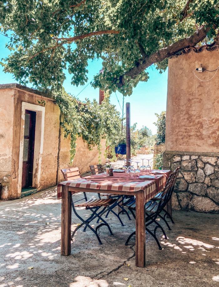 Restaurants eiland Vis Kroatie