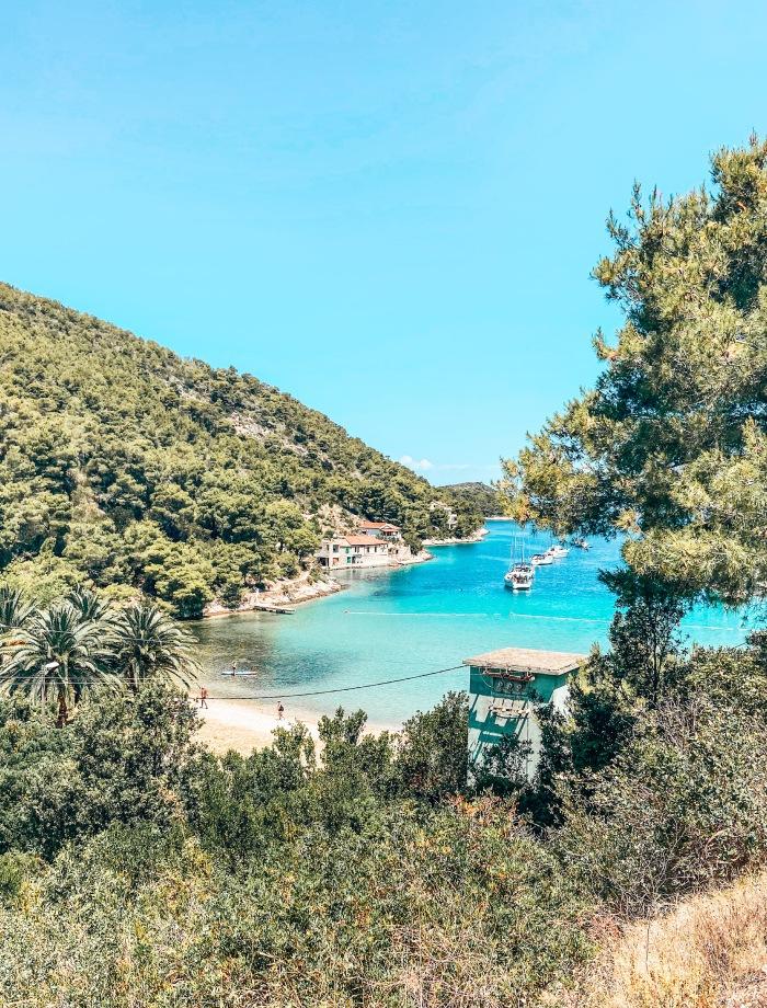 Stranden eiland Vis Kroatie