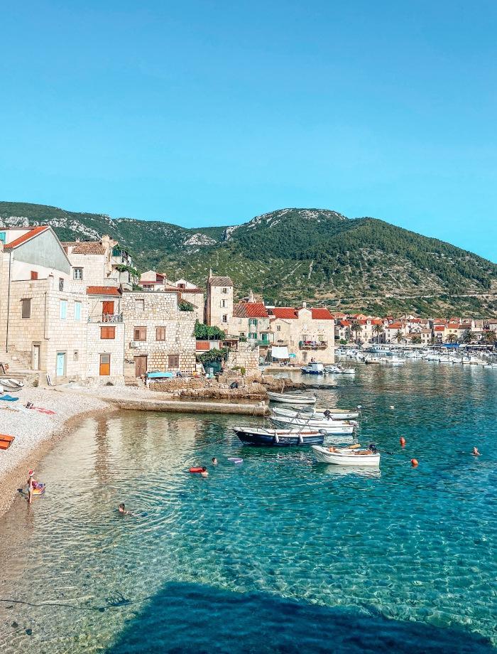 eiland Vis Kroatie
