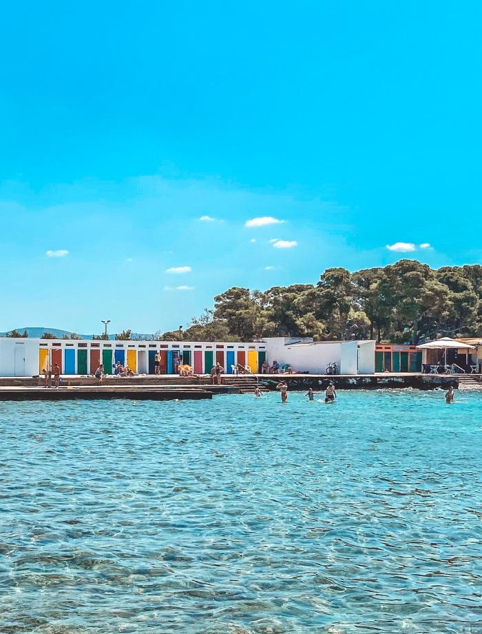 Jadrija strand Sibenik