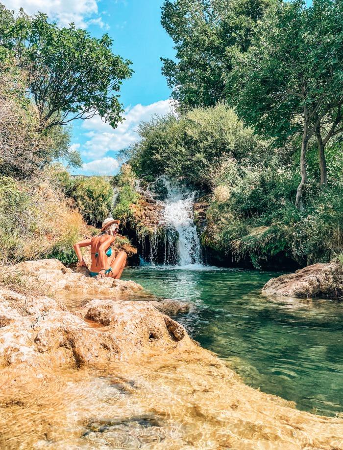 waterval Zrmanja Kroatie
