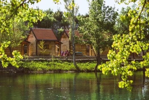 Accommodaties Zrmanja rivier Kroatie