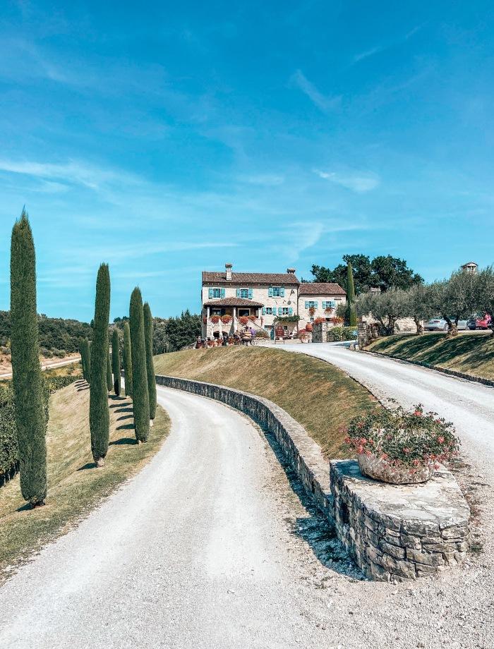 Kabola wijnhuizen Istrie