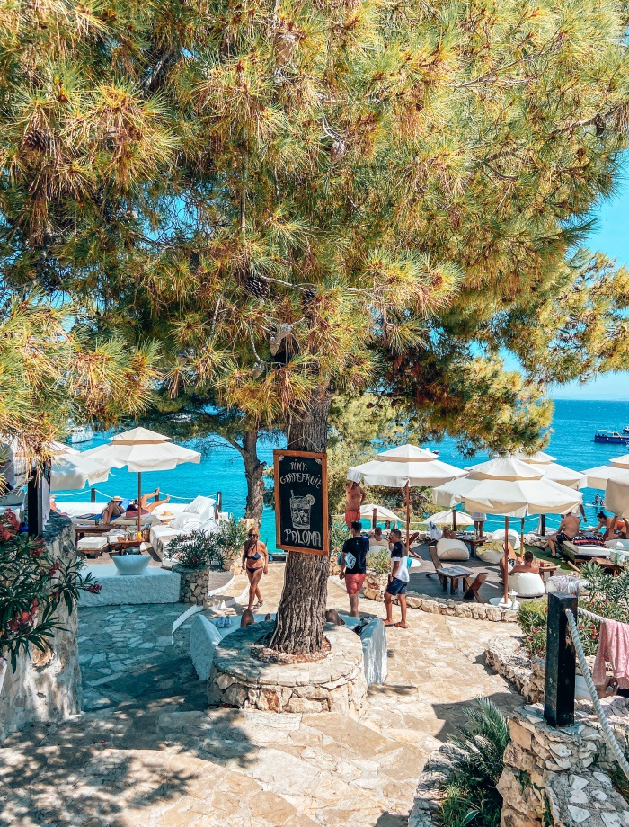 Stranden Ciovo Trogir Kroatie
