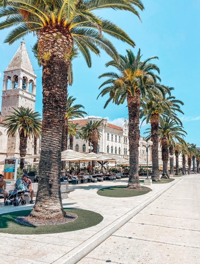 Riva Trogir Kroatie